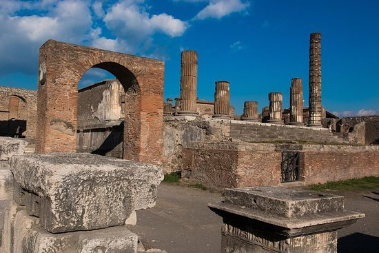 Pompeii og Vesuvius: Full dagstur med...