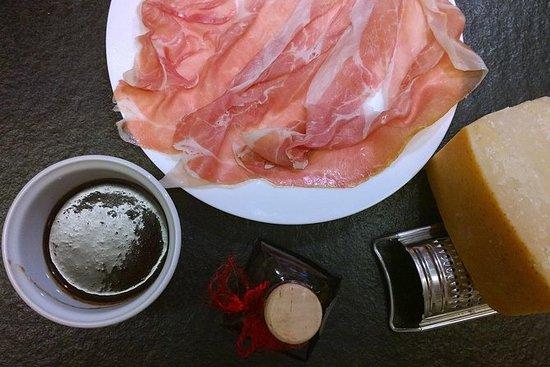 帕爾瑪全食品浸入品嚐和午餐