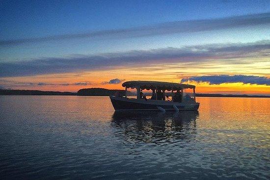 Leppävirta的浪漫私人湖泊游船
