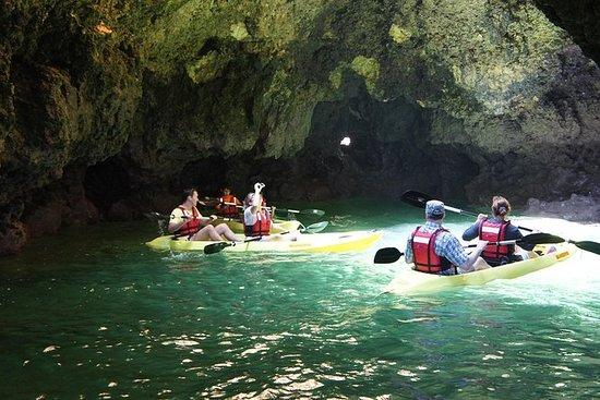 Tour in kayak di 2 ore tra le grotte