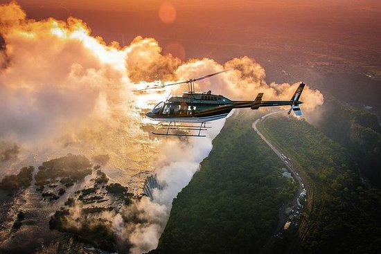 Volo dell'elicottero di Victoria