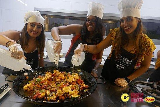 在瓦伦西亚的3小时素食肉菜饭烹饪班