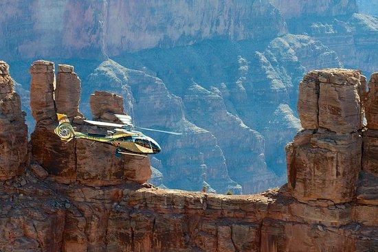 大峡谷空中直升机之旅与午餐