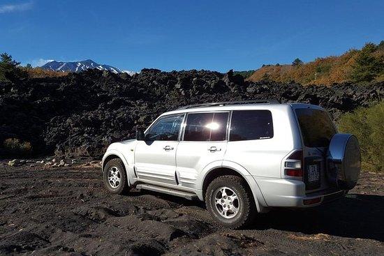 Etna & Alcantara Gorges von Land Rover...