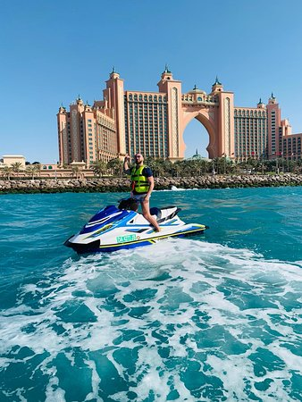 Stop by Atlantis at the top of Palm Jumeirah