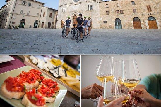Passeio de bicicleta e vinho