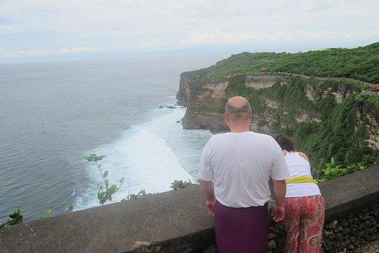 Nusa Dua Uluwatu旅游和日落晚餐在jimbaran海湾