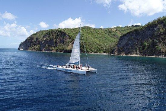 Catamaran Day Tour a Soufriere - per