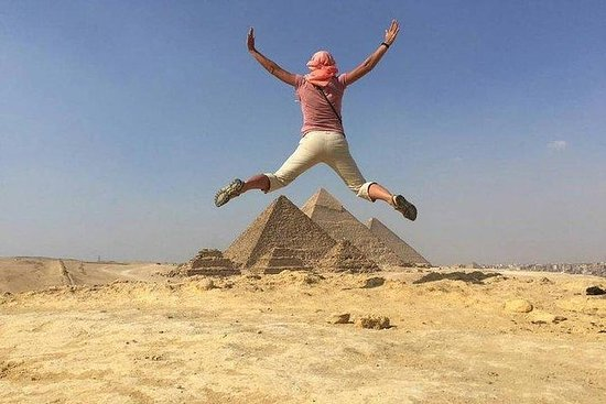 Giza Pyramids & Sphinx, Saqqara...