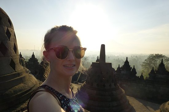 Spectacular Borobudur Sunrise from...