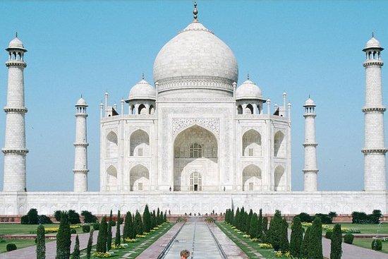 同日泰姬陵从德里乘快车游览