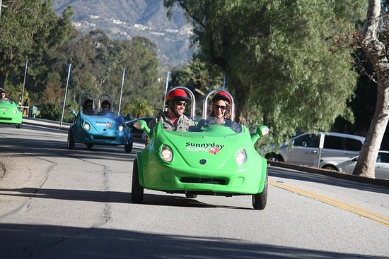 Mini-Car Sunrise Tour: See The Hollywood Sign and Observatory...