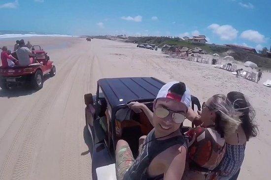 Tour a las playas de Fortaleza: ¡Tres...