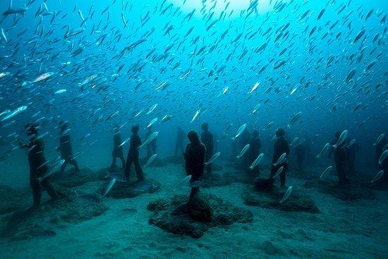 Museo Atlantico pour les plongeurs...