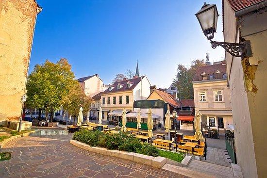Nachmittag Zagreb Spaziergang
