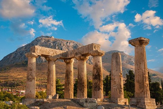 Private Biblical Tour of Isthmus Canal & Ancient Corinth from Corinthian Region!: Private Luxury Canal & Ancient Corinth Biblical Tour from the Corinthian Region!