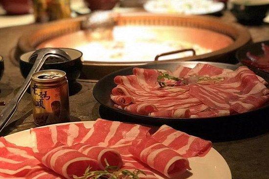 鍋食事体験やフットマッサージ付きのプライベートマウントフア日帰り旅行