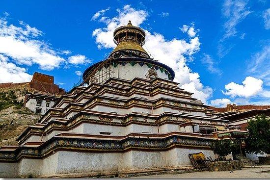 6 dager med turen i Tibet Høydepunkter