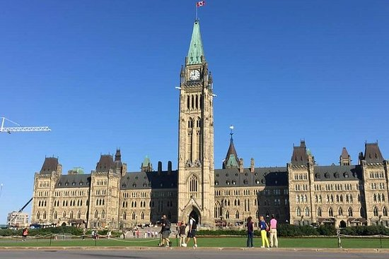 Ottawa privat dagstur fra Montreal
