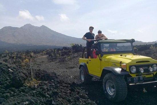 Batur Volcano 4WD Jeep Tour: Black...