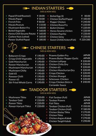 Pan Aroma Restaurant Panjim : Starters