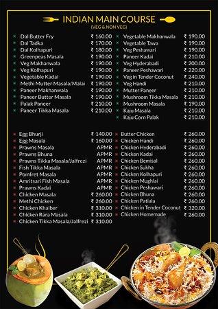 Pan Aroma Restaurant Panjim : Main Course