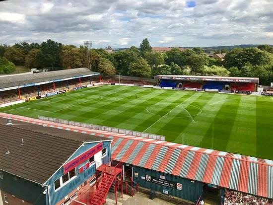 Aldershot, UK: EBB Stadium