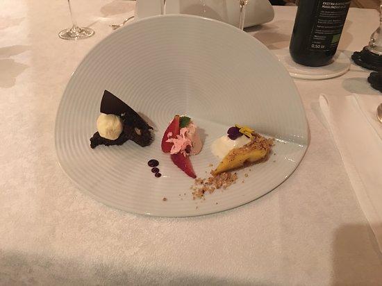 Restaurant Villa Ariston : 3erlei Dessert Variation