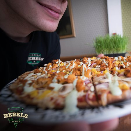 Rebels House Pizzeria & Pancakes: Rebels Pizza is made out of wholemeal dough and options are available for a variety of dietary requirements, including vegetarians and vegans.