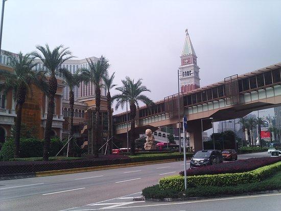"""Улица Макао в районе казино """"Венеция"""""""