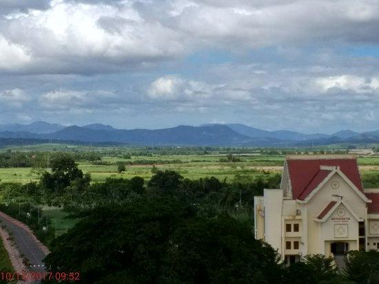 View from Indochine Hotel, Kon Tum, Vietnam