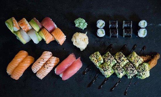 Wow fantastisk Sushi.