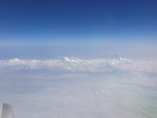China Eastern Airlines: 窗外景觀美
