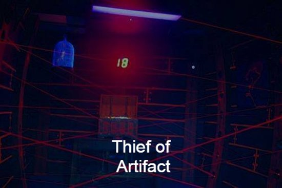* Thief of Artifact - Action room ... be sure to turn off the alarm