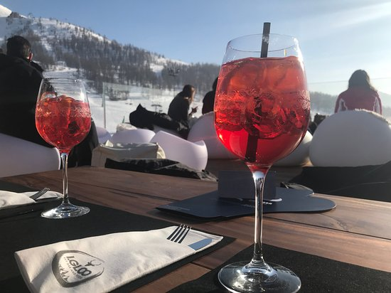 Terrazza Picture Of I Gloo Sky Bar And Food Sestriere