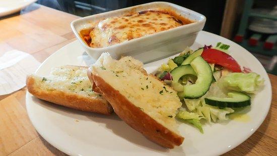 Bits and Pizzas Garlic Bread