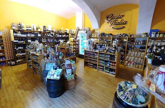 Tabor, Repubblica Ceca: Interiér obchodu