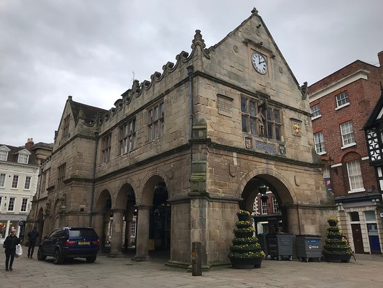 Shrewsbury, UK: The Old Market Hall