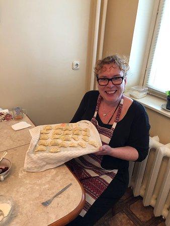 Kyiv (Kiev), Ukrayna: Magical Day cooking with Irina!