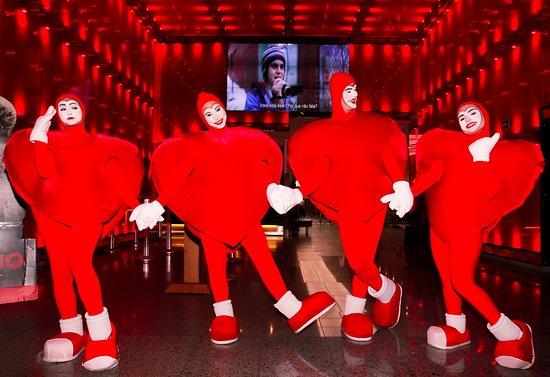 Maringa, PR: Os corações do Avenida Center prontinhos para uma seção de cinema no melhor cinema da cidade!