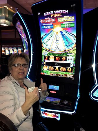 Classic Club Serrano member Susanna Y, on just her second trip to San Manuel Casino this year, won $10,352.69 on Konami's Star Watch Fire on March 21, 2019.