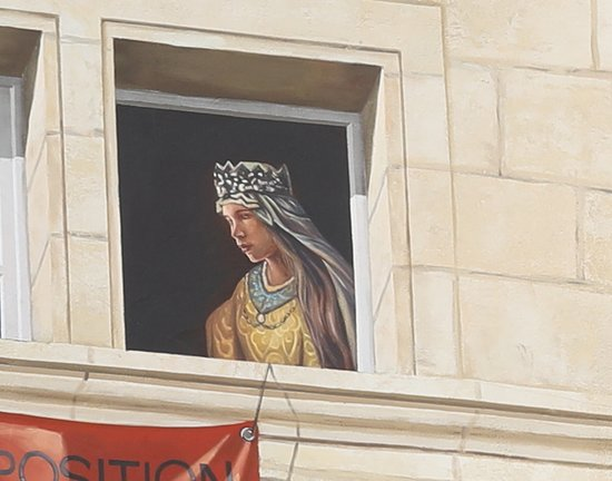 Fresque Ces femmes et ces hommes qui ont fait l'histoire de Dole