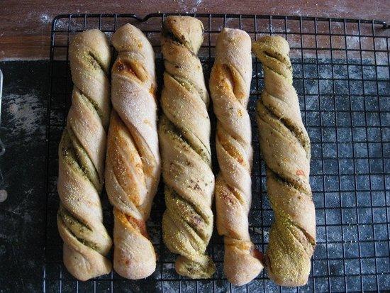Bread Angels: Bread sticks from the Italian bread class