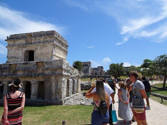 Tulum Archaeological Site: Construcciones mayas
