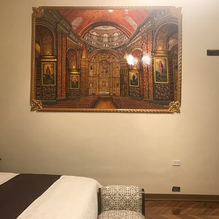 La Compania painting on our wall