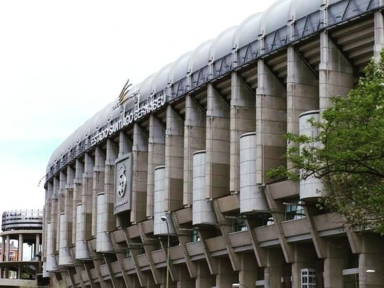 Football cathedral - home of the biggest club on earth