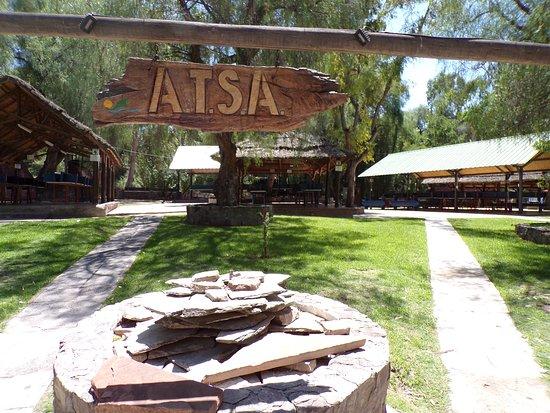 Camping de Atsa Mendoza: Camping ATSA Mendoza, ubicado en Av. Champagnat S/N El Challao.