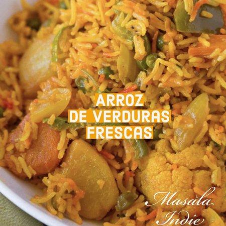 Masala Indie - A Progressive Affair: Arroz de Verduras Fresca