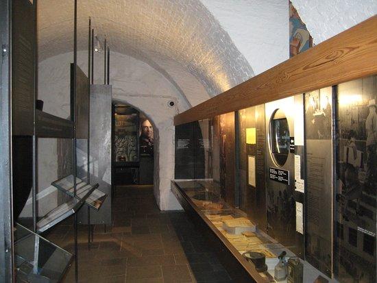 Lower level exhibits