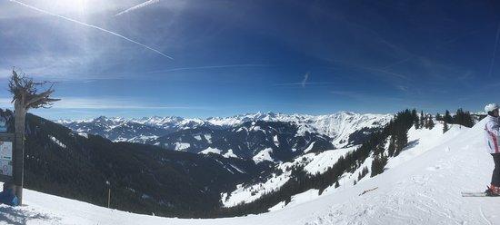 Skifahren pur
